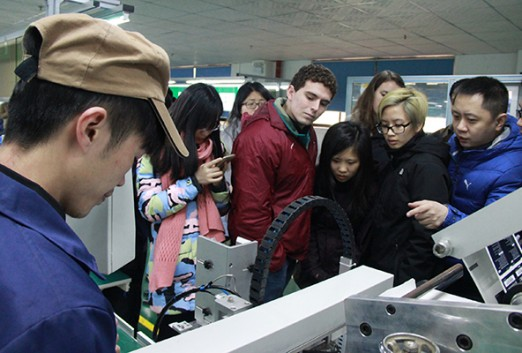 MIT students in China