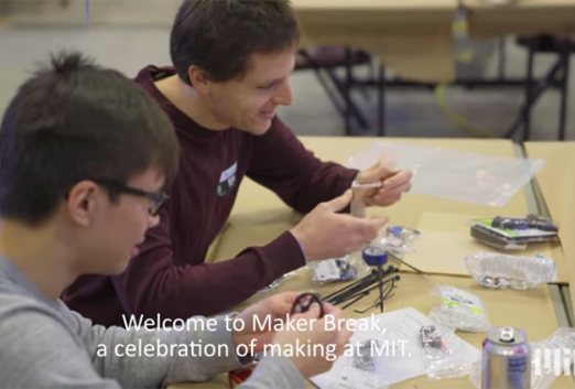 Maker Break and the MIT Makersystem